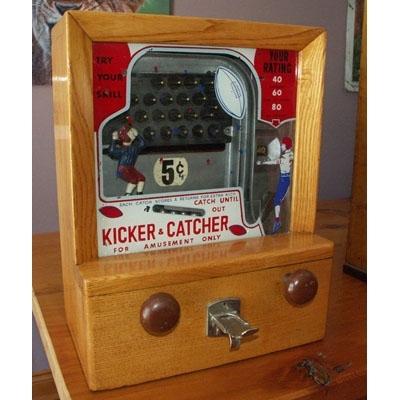 Countertop Arcade : Kicker & Catcher Countertop Arcade Game - PrimeauMusic