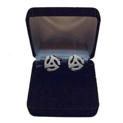 45 RPM Cuff Links -Sterling Silver