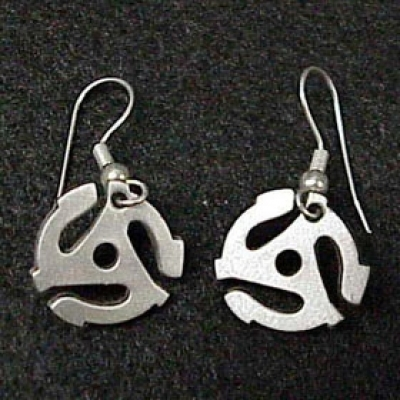 Pewter Earrings -
