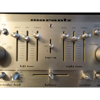 Vintage Marantz Rack Stereo System - 1970s Classic Silver Face System