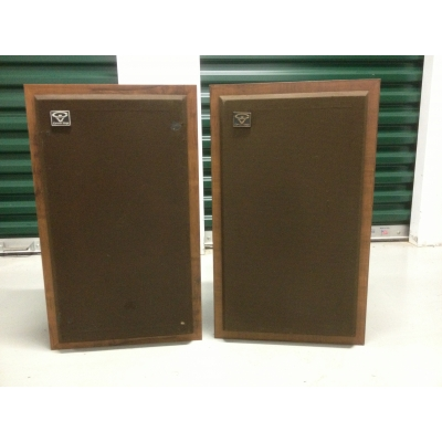 Cerwin Vega D-2 Speaker System - 70s Vintage Two-Way Powerhouse System.