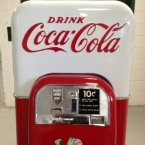 Vendo 44 Coke Machine Cabinet