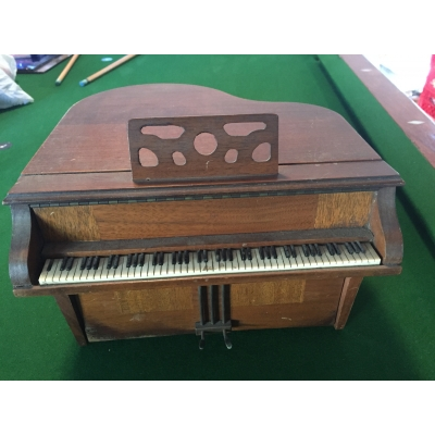 General Television Piano Radio Cabinet Only - GTPR-1
